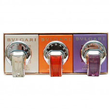 Подарочный набор Bvlgari Omnia for Women edt 3x15 ml