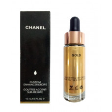 Жидкий хайлайтер Chanel Custom Enhancer Drops №2 Gold 15 ml
