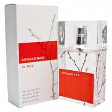 Armand Basi In Red For Women edt 50 ml original
